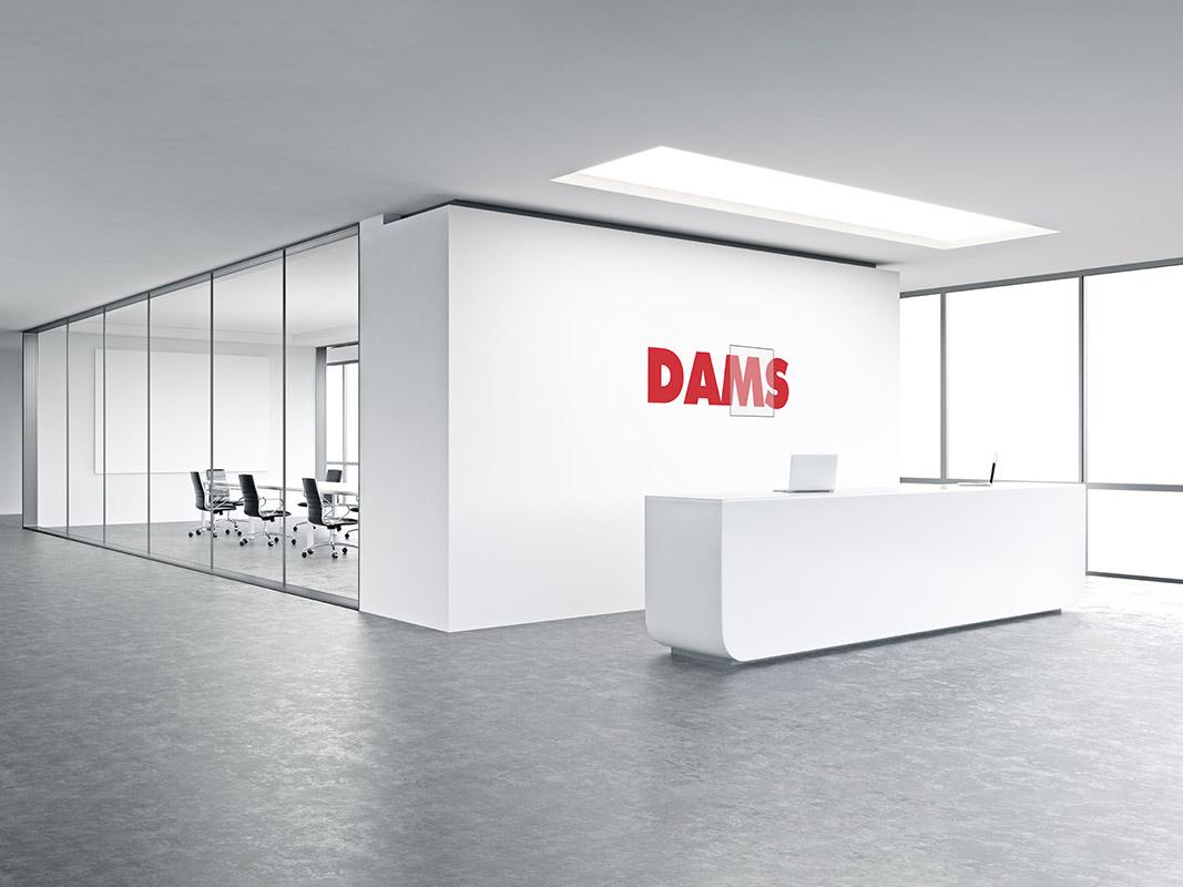 Pareti divisorie per ufficio dams for Pareti ufficio